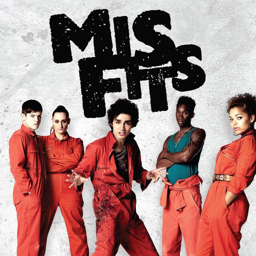 Resultado de imagem para Misfits serie