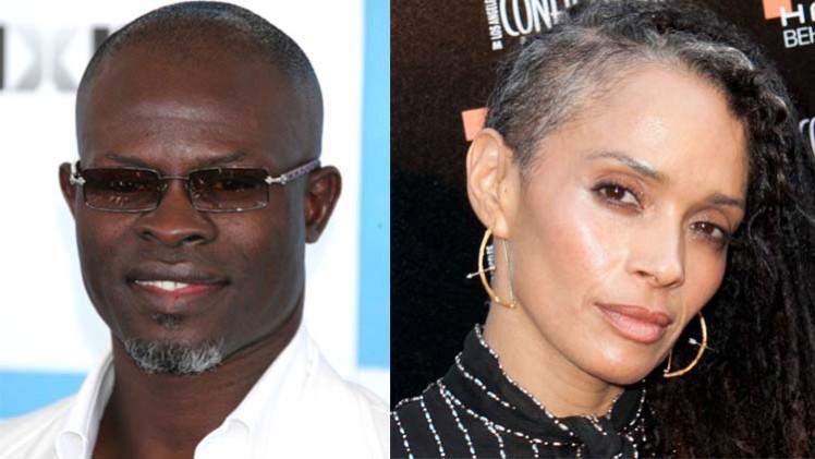 Djimon Hounsou_Lisa Bonet
