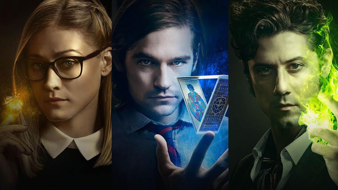 Resultado de imagem para the magicians serie posters