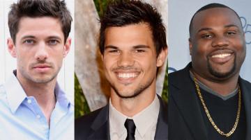 James Carpinello, James Earl e Taylor Lautner