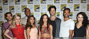 attends #WeAreAllHeroes: The Changing Landscape Of Comics, Geekdom And Fanboy Culture during Comic -Con International at Marriott Marquis & Marina on July 23, 2016 in San Diego, California.