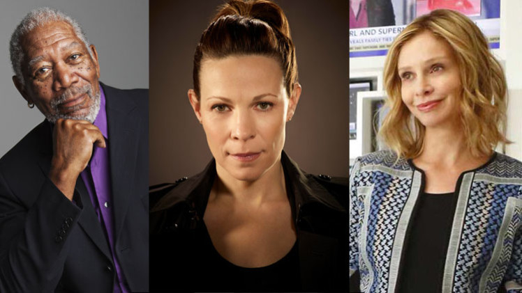 Morgan Freeman Lili Taylor Calista Flockhart