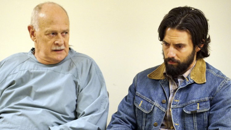 Milo Ventimiglia and  Gerald McRaney - This is Us