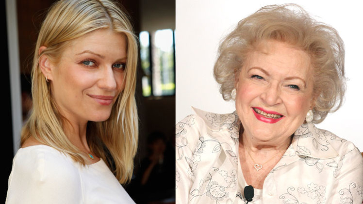Ivana Milicevic + Betty White