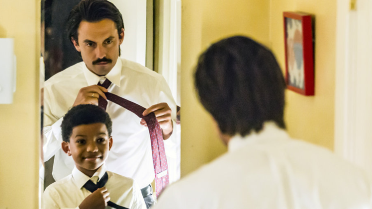 This is Us - Milo Ventimiglia and Lonnie Chavis