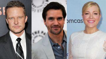 Will Chase, Jackson Hurst e Jennifer Aspen