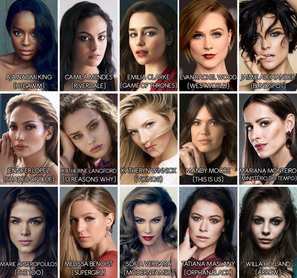 15 Finalistas mulheres