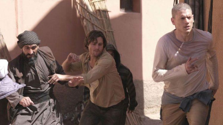 Prison Break - Wentworth Miller, Augustus Prew e Numan Acar