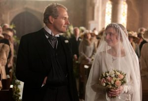 EMBARGOED UNTIL 24TH SEPTEMBER 2012. UK USE ONLY!! ITV1 Drama, Downtown Abbey Series 3. Episode 3 Robert Bathurst as Sir Anthony Strallan, Laura Carmichael as Lady Edith The third series, set in 1920, sees the return of all the much loved characters in the sumptuous setting of Downtown Abbey. As they face new challenges, the Crawley Family and the Servants who work for them remain inseparably interlinked © Carnival Film & Television Limited