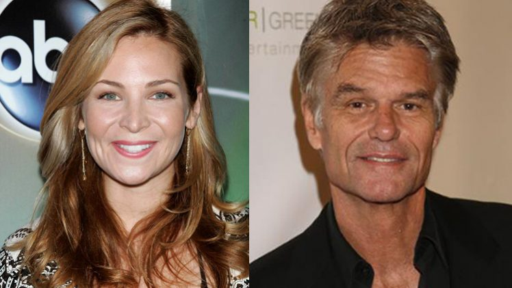 Jennifer Westfeldt + Harry Hamlin