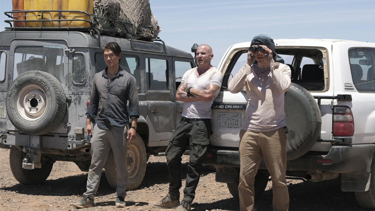 Prison Break - Wentworth Miller, Dominic Purcell, Rick Yune