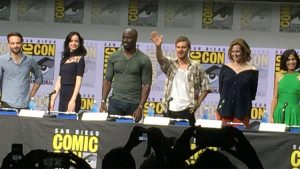The Defenders SDCC