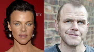 Debi Mazar e Michael Maize