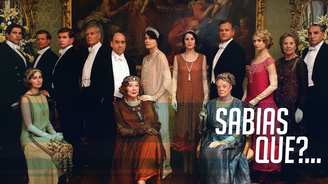 sabias-que downton abbey