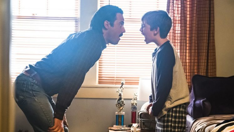 This is us - Milo Ventimiglia and Parker Bates