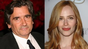 Griffin Dunne + Jaime Ray Newman