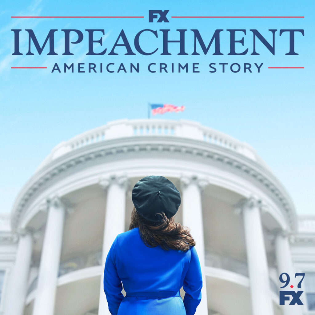 Impeachment american crime story posters