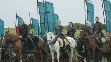 Vikings - Bjorn, Lagertha, Torvi e Ubbe