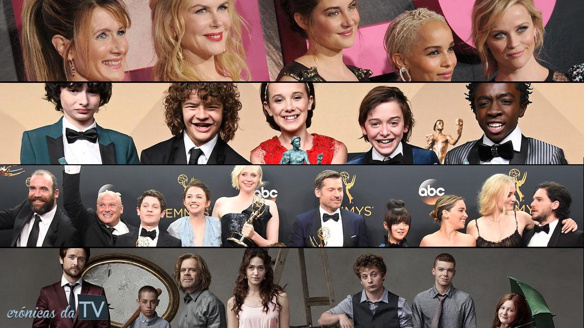 melhores elencos das séries