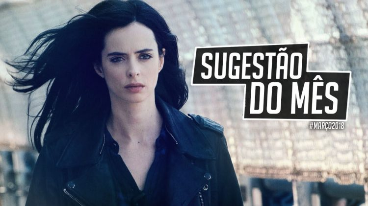 sugestao do mes jessica jones