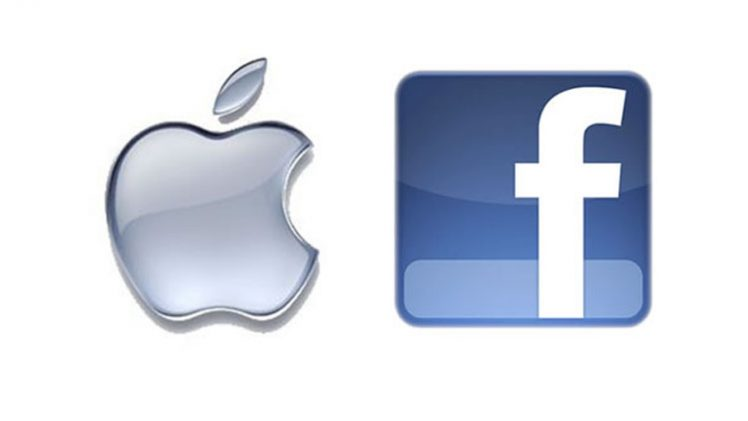 apple + facebook