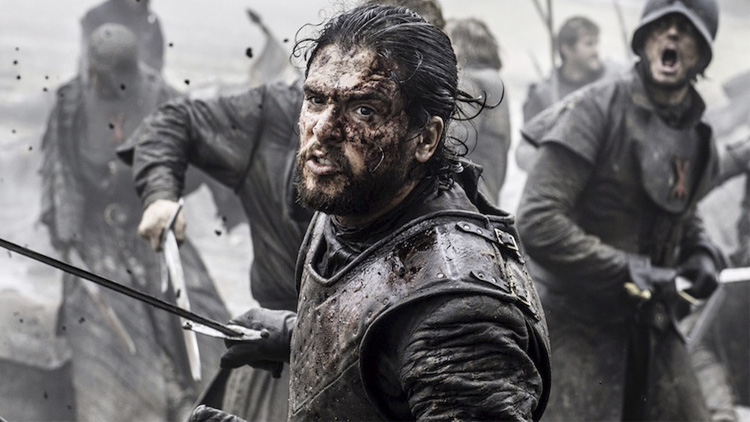 Batalha épica gravada em tempo recorde — Game of Thrones