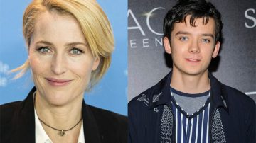 Gillian Anderson e Asa Butterfield