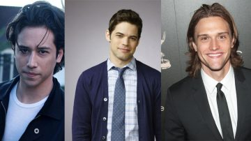 Jesse Rath, Jeremy Jordan e Hartley Sawyer