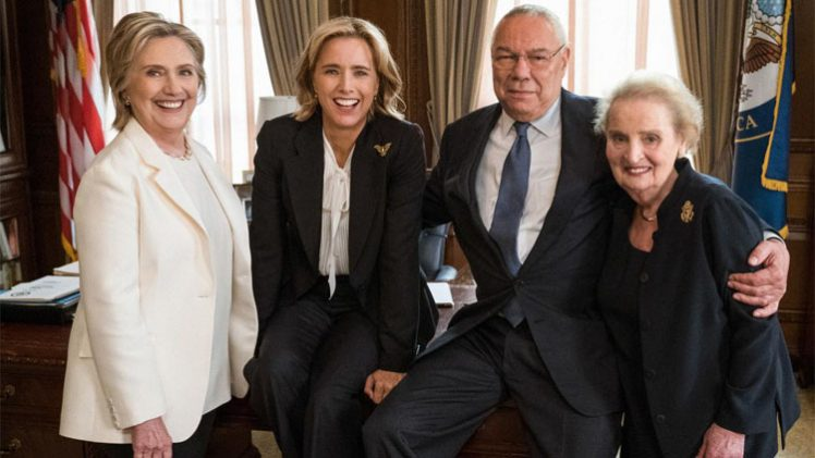 Tea Leoni Hillary Clinton Madeleine Albright Colin Powell