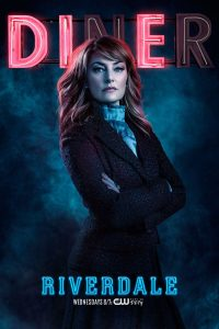 Riverdale -- Image Number: RVD_SINGLES_ALICE_S2.jpg -- Pictured: Madchen Amick as Alice Cooper -- Photo: Marc Hom/The CW -- © 2017 The CW Network. All Rights Reserved