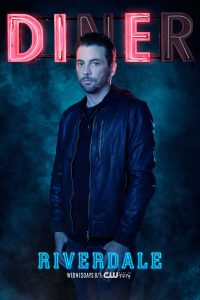 Riverdale -- Image Number: RVD_SINGLES_FP_S2.jpg -- Pictured: Skeet Ulrich as FP Jones -- Photo: Marc Hom/The CW -- © 2017 The CW Network. All Rights Reserved