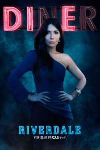 Riverdale -- Image Number: RVD_SINGLES_HERMIONE_S2.jpg -- Pictured: Marisol Nichols as Hermione Lodge -- Photo: Marc Hom/The CW -- © 2017 The CW Network. All Rights Reserved