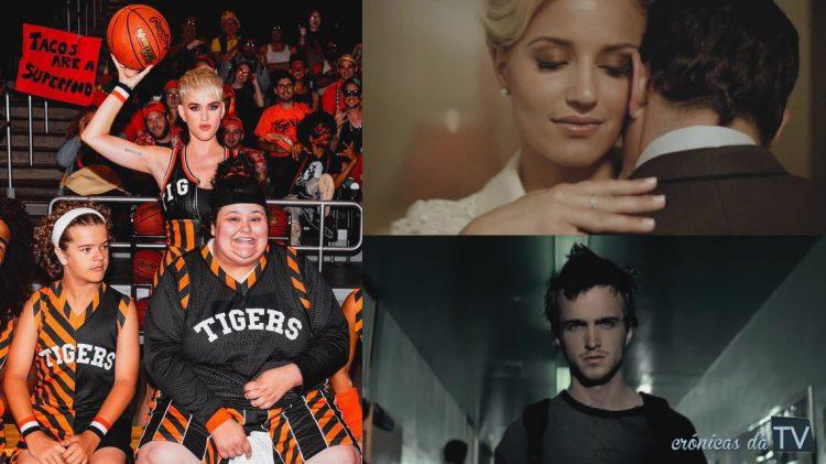 atores series em video clips
