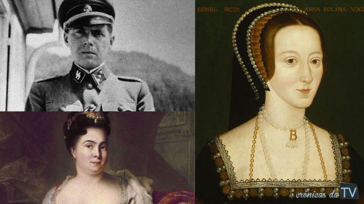 personagens historicas que davam series