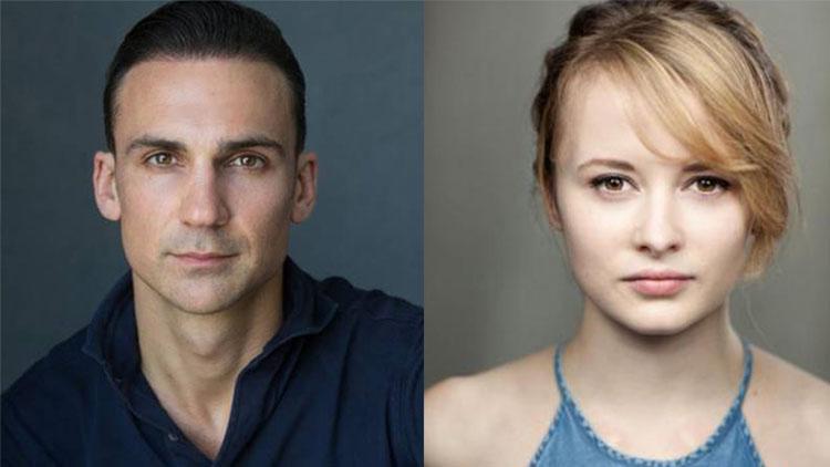 Henry Lloyd-Hughes e Shannon Tarbet