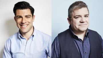 Max Greenfield e Patton Oswald