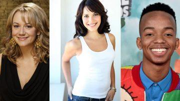 Megyn Price, Coy Stewart e Elena Tovar