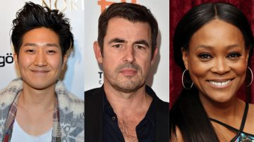 Tim Jo, Claes Bang e Robin Givens