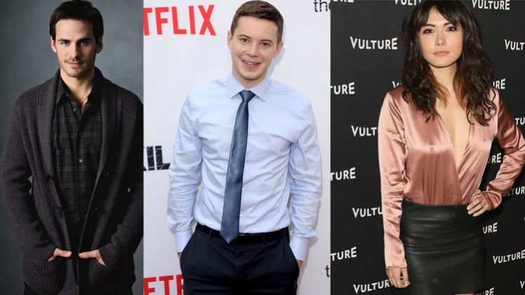 Colin O'Donoghue, Tyler Ross e Daniella Pineda