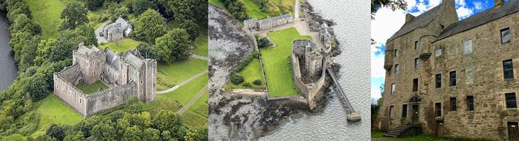 Castelo de Doune Castelo Blackness Castelo Midhope Outlander