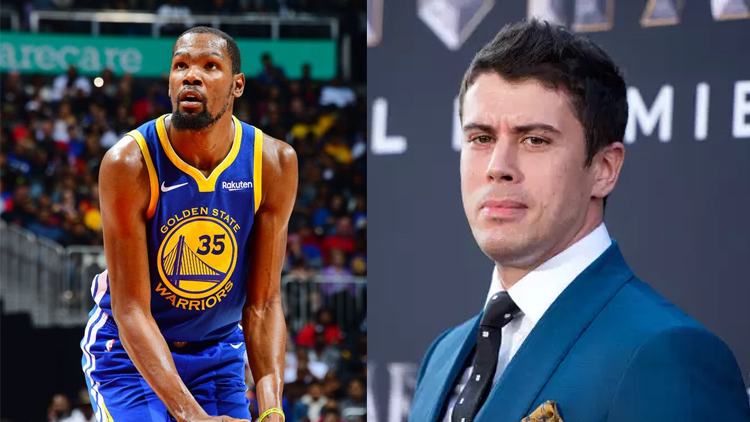 kevin durant + Toby Kebbell