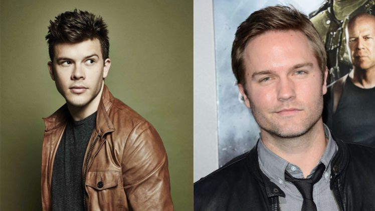 Jimmy Tatro e Scott Porter
