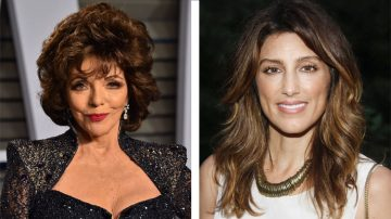 Joan Collins e Jennifer Esposito