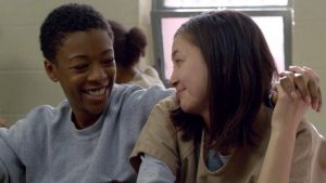 Poussey Brook Orange is the new black