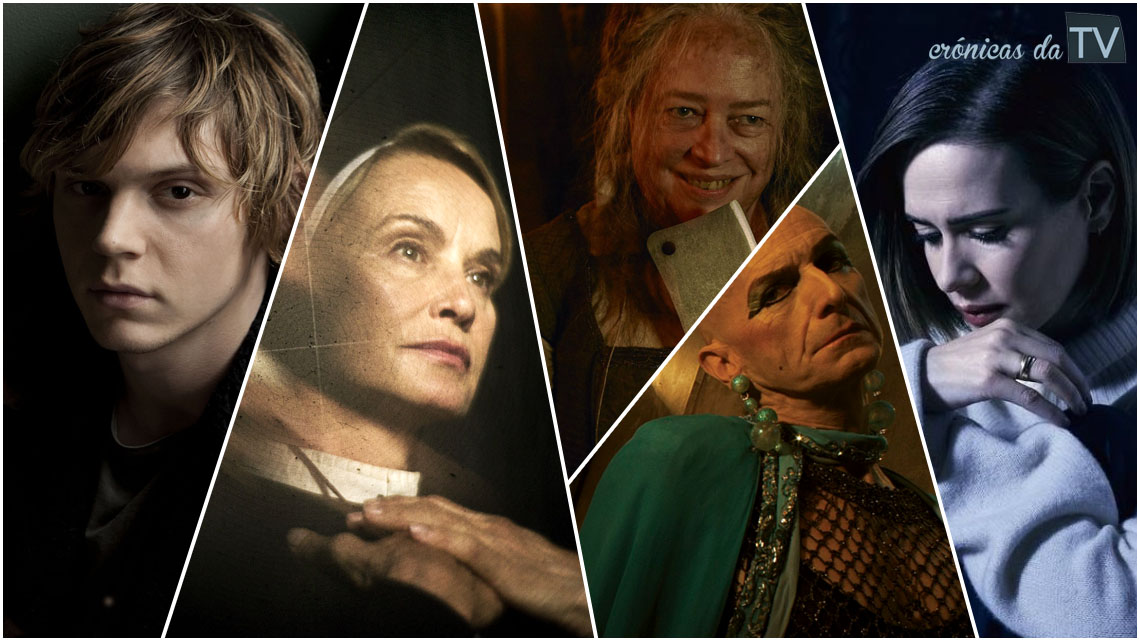 personagens american horror story
