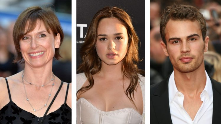Amelia Bullmore, Rose Williams e Theo James