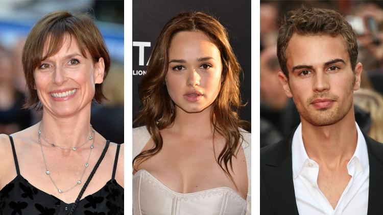 Amelia Bullmore, Rose Williams e Theo James