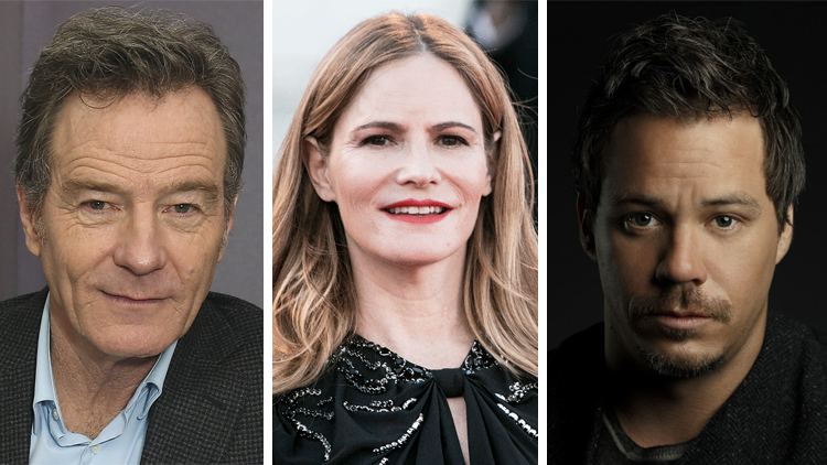 Bryan Cranston, Jennifer Jason Leigh e Michael Raymond-James
