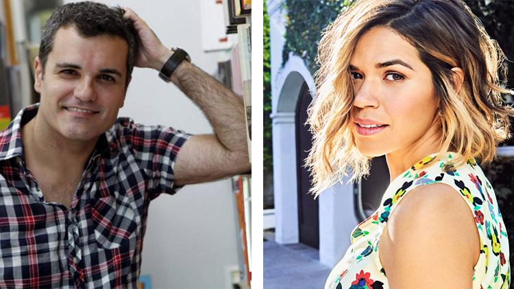 Carlos Montero e America Ferrera