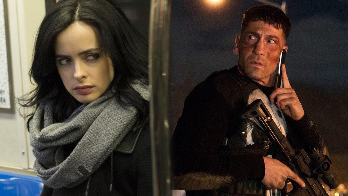 Jessica Jones The Punisher